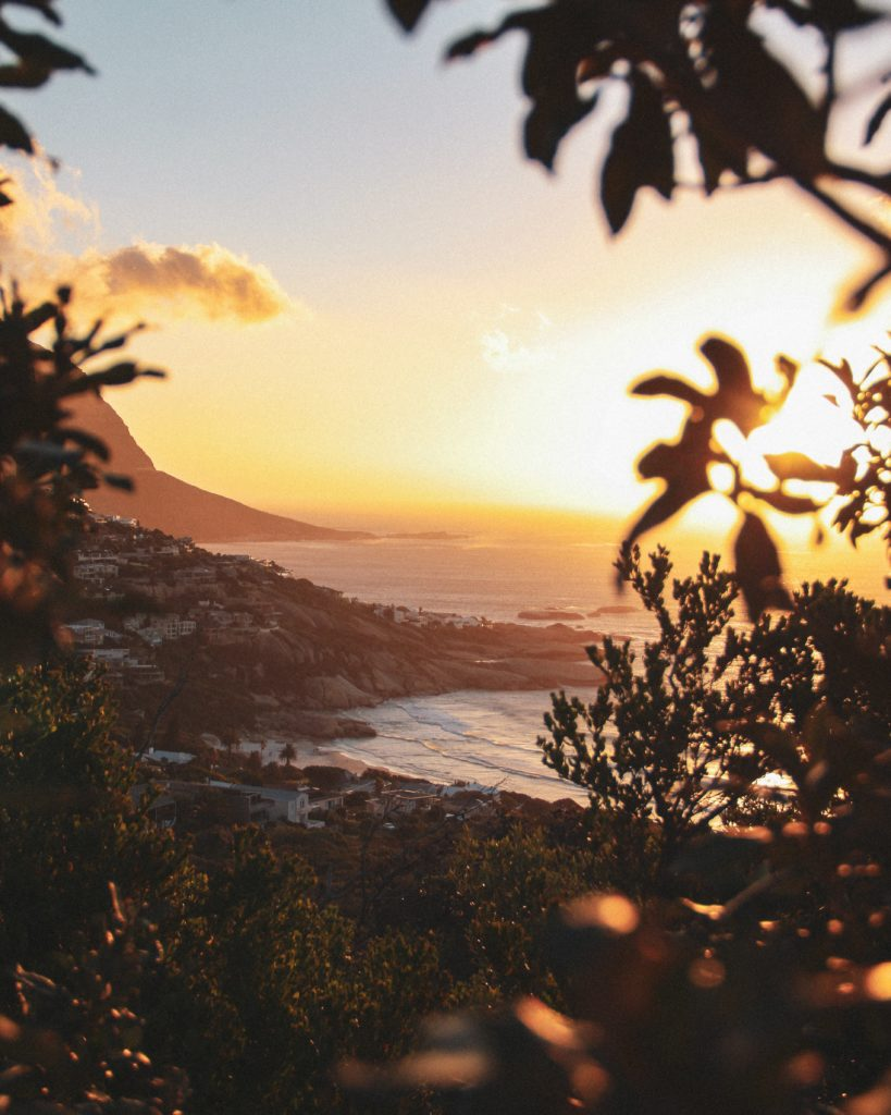 Proposal Spots in Cape Town   Sunset over Llandudno Beach