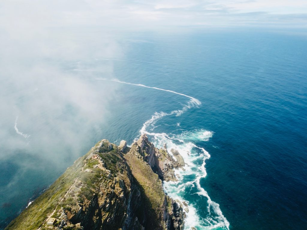 Proposal Spots in Cape Town   Cape Point from above