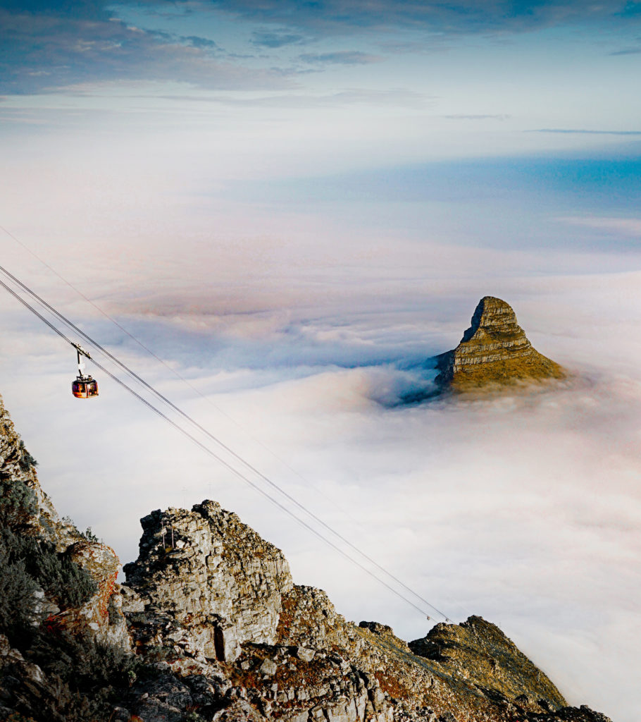 Proposal Spots in Cape Town   Cablecar of Table Mountain